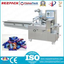 Многофункциональный горизонтальный тип подушки упаковочная машина для продуктов питания (RZ-300)