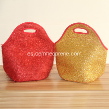 Glitter Custom Stylish Lunch Carry Bag