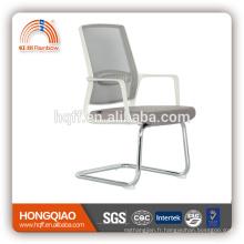 CV-B206BSW-1 base en métal chromé fixe accoudoir en nylon chaise de bureau chaise de bureau