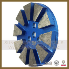 Concrete Diamonds Metal Floor Polishing Pads