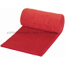 Good Quality Warm Polar Fleece Travel Blanket