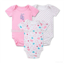 2017 new fashion girl baby onesie jumpsuit 100% cotton summer baby flowers romper
