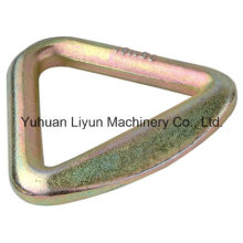 100mm X 9090kg Delta Ring for Cargo Lashing Strap, Ratchet Tie Down Strap, Expert of Metal Hardware