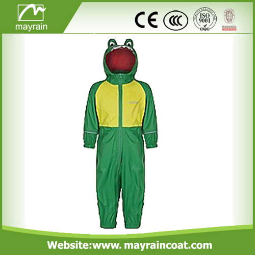 Polyester Girls And Boys Rainsuit