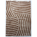 Polyester 3D tapis Shaggy populaire