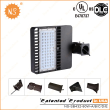 UL Dlc Listed IP65 Stationnement extérieur 80W LED Area Light
