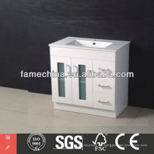 2013 O mais recente gabinete do vintage branco High Gloss vintage cabinet white
