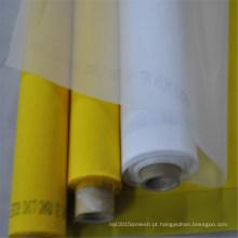 Malha da impressão da tela do poliéster do monofilamento / pano de parafusamento para imprimir