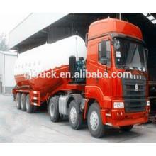 Bulk cement powder truck/bulk cement truck/bulk powder tank trailer/bulk cement truck trailer