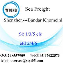 Shenzhen Port LCL konsolidering till Bandar Khomeini