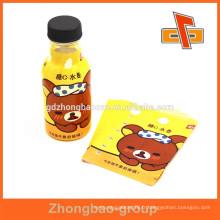 Manteaux à empaquetage à boisson / jus à bouteilles complètes pour l'étiquetage des boissons pour bébés