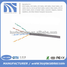 1000 pies / 305m gris cable UTP Cat5 Lan
