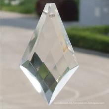 Piezas de cristal de cuarzo grande chino para araña de cristales
