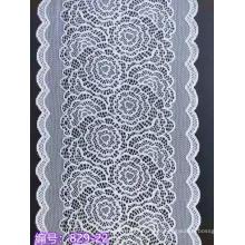 Nylon spandex floral lace trimming 22CM