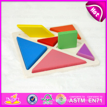 2015 Promotional Kids Wooden Puzzle Set Toy, Colorful Children Wooden Puzzle Game, Cheap Jigsaw Puzzle for Gift with En71 W14A131