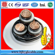 Copper Conductor XLPE Insulated Corrugated Aluminium Armoured Power  Cable