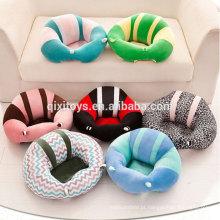 Projeto original novo modelo sofá criança sofá tabela engraçado macio brinquedos de pelúcia de pelúcia para o bebê sentado