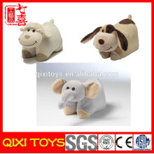 Wholesale Plush Animal Pillow Blanket Pillow Blanket Foldable Blanket Pillow