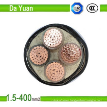 XLPE Insulated Flexible Electrical Power Cable Copper Conductor