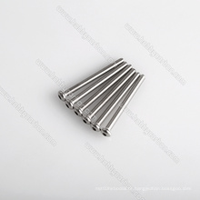Parafusos de cabeça de botão de aço inoxidável M3