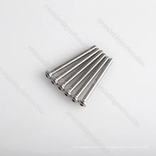 Vis d'acier inoxydable de fixations de matériel d'OEM, boulons de tête de bouton M3