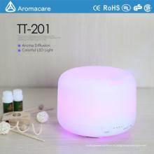 Colorido LED decoración CE RoHS 300ml Aromacare humidificador