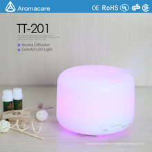 Humidificateur coloré d'Aromacare de la CE RoHS 300ml de décoration de LED