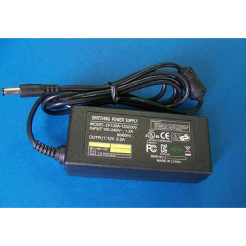 UL Approve 60W LED Driver DC24V Plastic Case Power Adapter