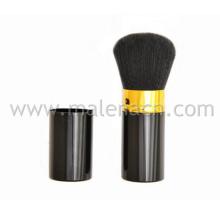 Pinceau en poudre rétractable pour le maquillage