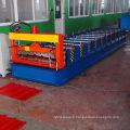 760 tôle d'acier galvanisé panneau en acier et le toit de fer / paroi en acier couleur carreau rouleau formant la machine