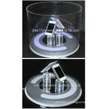 Haste acrílica transparente para exposição / expositor