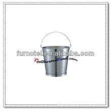 U198 Balde de aço inoxidável / balde / barril