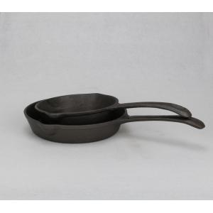 Cast iron cookware frying pan skillet
