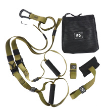 Yoga Fitness Bands Hanging Belt Tension Exercise Pull Rope Suspension Trainer