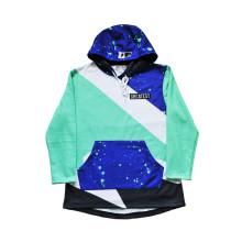 Colorido diseño largo ropa deportiva para baloncesto y fútbol (h5007)