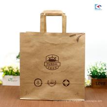 Costumes de fábrica de alimentos artesanais saco de papel à prova de óleo de sobremesa bolo sacos de embalagem