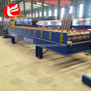 Eps terisolasi rockwool sandwich panel mesin genteng