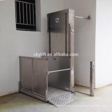 Offre d'ascenseur de fauteuil roulant de maison de 2 étages PLAN PERSONNALISÉ
