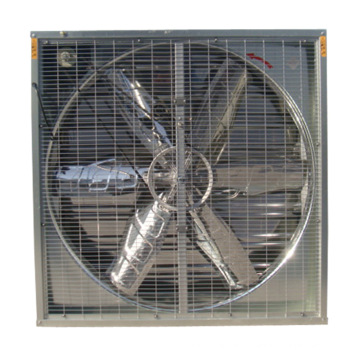 50′′ heavy hammer exhaust fan with stainless steel blade