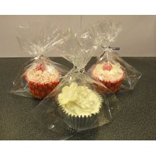 Custom Printed Clear Cellophane Bags For Cakes