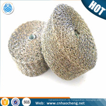 Knit Wire Mesh / gas Liquid Filter Wire Mesh Demister for Air Cleaner