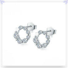 Jóias de prata jóias brinco de moda 925 jóias de prata esterlina (se148)
