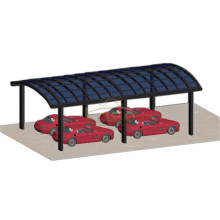 Estacionamento sombra carro Alu liga de alumínio