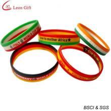 Venda quente Silicone pulseira pulseira de Silicone esporte (LM1636)