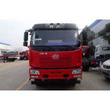 FAW 3 axis 6x4 fresh milk transporter truck
