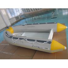 Barco inflable rígido casco de aluminio