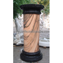 Stone Marble Granite Sandstone Hollow Colonnes romaines (QCM041)