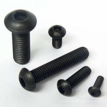 parafuso de botão sextavado de aço carbono hardware mobiliário