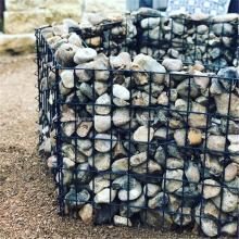 ПВХ оцинкованная сварная стена сетки сада Gabion
