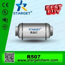Melhor qualidade baixa GWP melhor gás refrigerante de compra r507